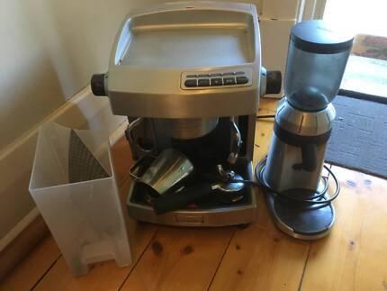 Sunbeam coffee grinder other appliances gumtree australia sunbeam coffee machine em6910 plus grinder fandeluxe Images