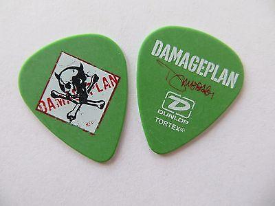 Authentic Damageplan Dimebag Darrell Guitar Pick Pantera 2004 Tour Dunlop
