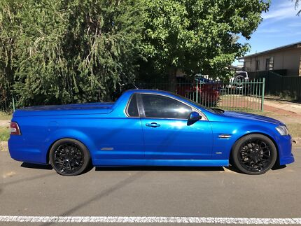 MY10 2009 Holden Commodore VE SS Ute 6-speed Manual in Voodoo Blue