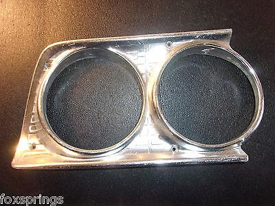 1963 Ford Galaxie Headlight Bezel Right Aluminum  -  F841