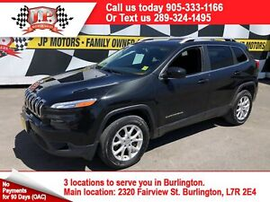 2016 Jeep Cherokee North, Automatic, Back Up Camera, 4wd