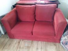 FREE Red 2 seater sofa Leichhardt Leichhardt Area Preview