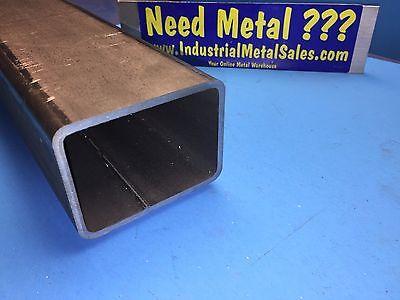 3 X 4 X 12-long X 316 Wall Steel Rectangle Tube --3 X 4 X .188 Box Tube