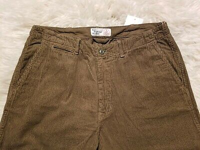 NWT EAST HARBOUR SURPLUS ARMY PANTS VINTAGE LOOK CORDUROY 35 34 RRL KAPITAL