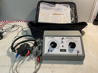 Ambco 650a Hearing Test System Audiometer Tested Working Free Shipping