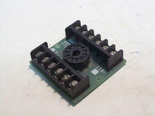 NEW RDI 11BR 11 PIN RELAY SOCKET P4965