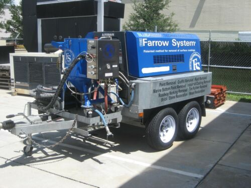 Farrow System FS-185 Eco-Friendly Low Pressure Blasting System
