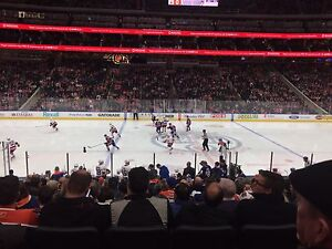 Oilers Playoff Tickets Available! Center Ice Club Seats!!