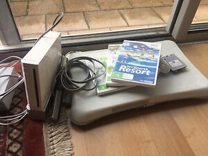 Wii Console incl Wii Fit and Resort Brompton Charles Sturt Area Preview