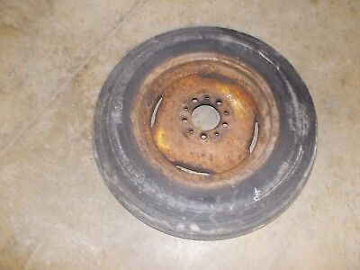 Allis Chalmers D15 II tractor AC ORIGINAL rim + OLD USED 5.50 16