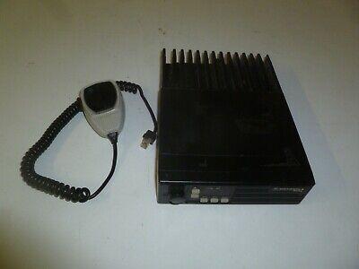Motorola Radius 29.7-36 Mhz Low Band Two Way Radio W Mic D51lra9732bk Yb418