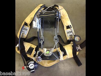 Scott 4500psi Industrial Air Pack Scba Harness 4.5 Air Pak Very Nice Condition