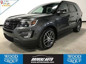 2017 Ford Explorer Sport ACCIDENT FREE,ADAPTIVE CRUISE, HEATE...