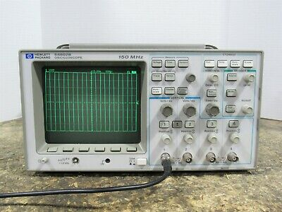 Hp 54602b 150mhz Four Channel Portable Digitizing Oscilloscope For Partsrepair