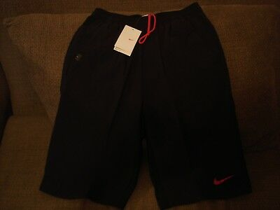 NWT Nike Nadal Dri-Fit 14 inch Suede Tennis Shorts 280282-010 Med RARE Federer for sale  USA