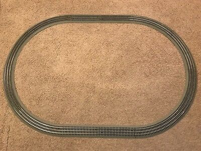 Used, LIONEL FASTRACK 40X60 OVAL TRAIN TRACK PERFECT FOR AROUND THE CHRISTMAS TREE for sale  Sandia Park