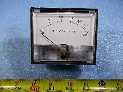 Weston Kilowatts Meter Model 1934 Fs 15 Vac
