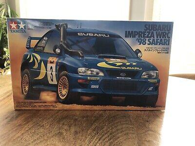 TAMIYA 24205 1800 1/24 SUBARU IMPREZA WRC ´98 SAFARI Round 3 Series NO 205