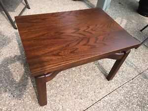 Beautiful Vintage Mid Century Table Rosewood or Dark Walnut