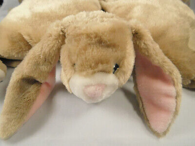 Little Miracles Tan Pink Bunny Plush Pillow Stuffed Animal Costco](Pink Bunny Stuffed Animal)