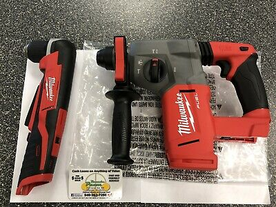 Milwaukee 2712-20 M18 Fuel 1 Sds Plus Rotary Hammer 38 Right Angle Drill