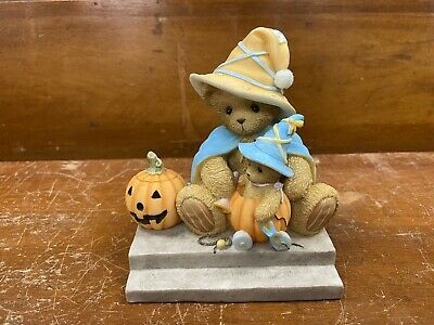 "Cherished Teddies Janina ""Light Up Your Halloween With Fun"" 4002851 Signed"