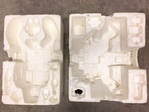 Transformers - Styrofoam inserts for G1 Trypticon and Scorponok