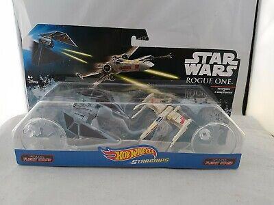 STAR WARS Starships TIE Striker vs X-WING FIGHTER hot wheels 2 pack diecast