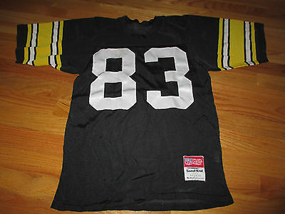 80s Store Model LOUIS LIPPS No. 83 PITTSBURGH STEELERS Sand-Knit (SM) Jersey - Pittsburgh Steelers Store