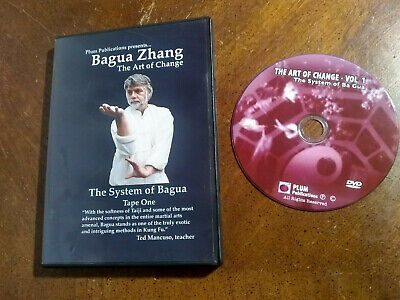 Bagua Zhang Art of Change DVD 1 disc Very Good Plum System of Bagua Tape One