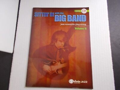 *    SITTIN' IN with the BIG BAND  SONGBOOK-VOL.II-JAZZ ENSEMBLE PLAY-ALONG CD  ()