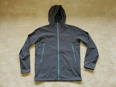 The North Face HyVent 2.5L HOODED Burst Rock Dark Gray Jacket Mens Large