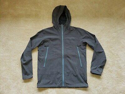 The North Face HyVent 2.5L HOODED Burst Rock Dark Gray Jacket Mens Large