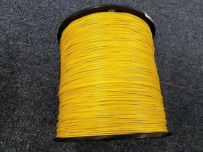 Yellow 18 Awg Gauge Stranded Hook Up Wire 100 Ft Reel Ul1007 300 Volt