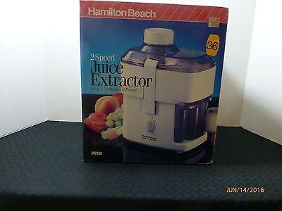 Hamilton Beach 2 Speed Juice Extractor