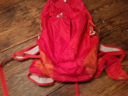 """Gregory 24 Backpack Red Orange 20"""" X 12"""""""