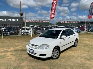 2005 TOYOTA COROLLA ASCENT SEDAN AUTOMATIC 36 MONTHS FREE WARRANTY Kenwick Gosnells Area Preview