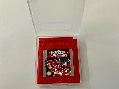 Pokemon Red Version GB Gameboy SAVES USA SELLER SHIPS FIRST CLASS FAST