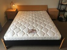 Queen Bed Frame & Matching Side Tables Herston Brisbane North East Preview