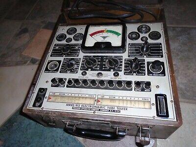 Vintage Precision Apparatus Series 912 Electronamic Dynamic Tube Tester Checker
