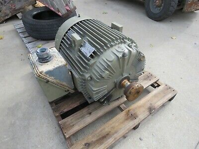Siemens 100 Hp 460v 405ts Fr 3560 Rpm Electric Motor 5ks405saa118d8 Rebuilt