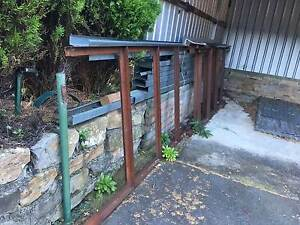 Reno supplies- metal sheet/frames/posts, screen & wood doors South Hobart Hobart City Preview