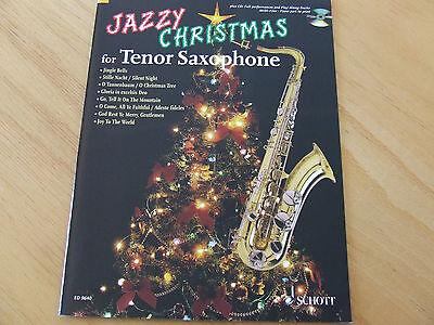Jazzy Christmas for Tenor-Saxophone mit CD ED Schott 9640