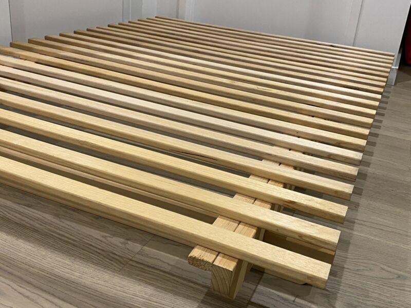 Japanese Futon Double Bed Base Frame