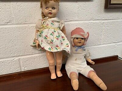 Vintage China & Plastic Dolls
