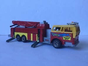 majorette incendie nacelle fire truck