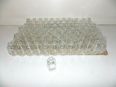 Lot Of 96 New Wheaton Clear Glass Serum Bottles 30ml Each No Cap 223743 Hobby
