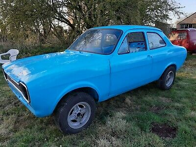 1971 MK1 FORD ESCORT 2 DOOR ROLLING SHELL RIGHT HAND DRIVE WITH VIN NO RESERVE