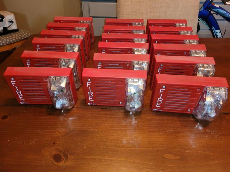 Simplex fire alarm hornstrobe 4903-9217