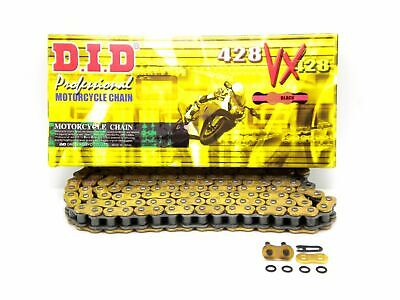 DID 428 x 120 Links VX Pro-Street Series Sealed X-ring Gold Chain